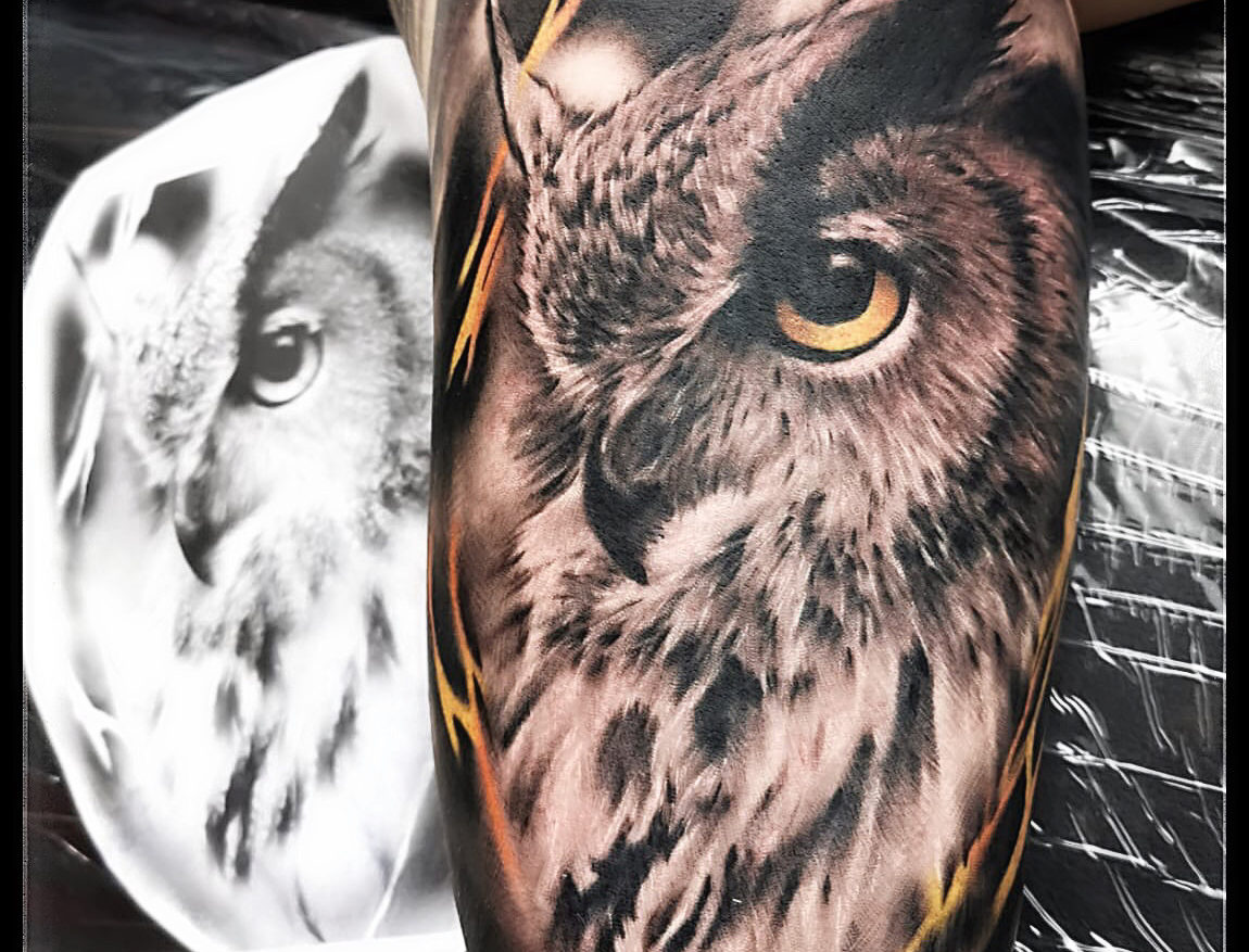 Tatuaj bufnita