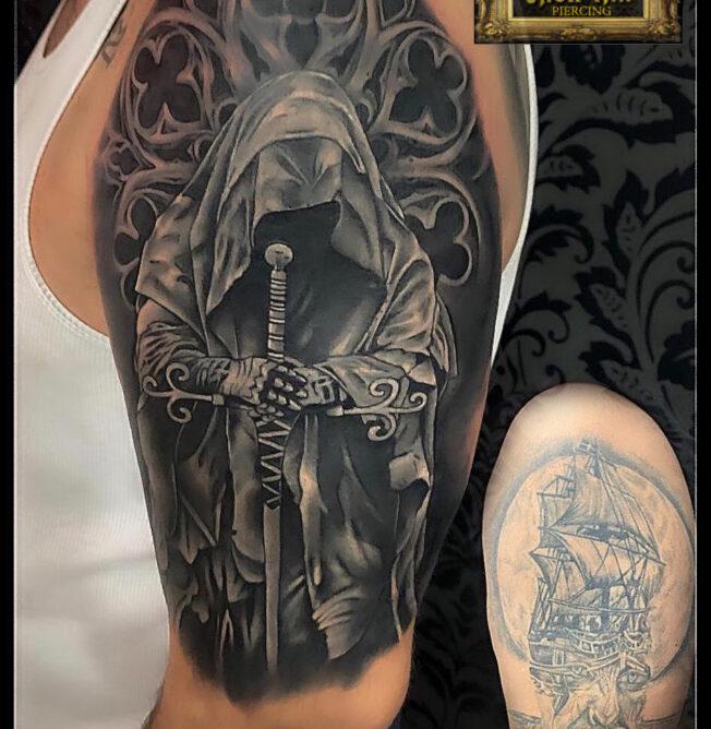 tatuaj boabe de mazare