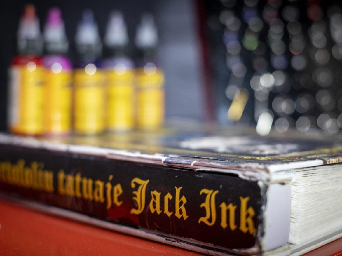 Imagine salon Jack Ink